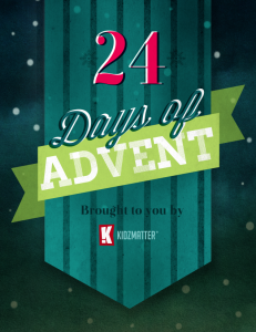 24 Days of Advent